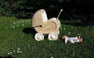 Puppenwagen-verschenken