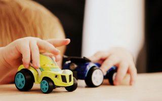 Spielzeugautos-verschenken